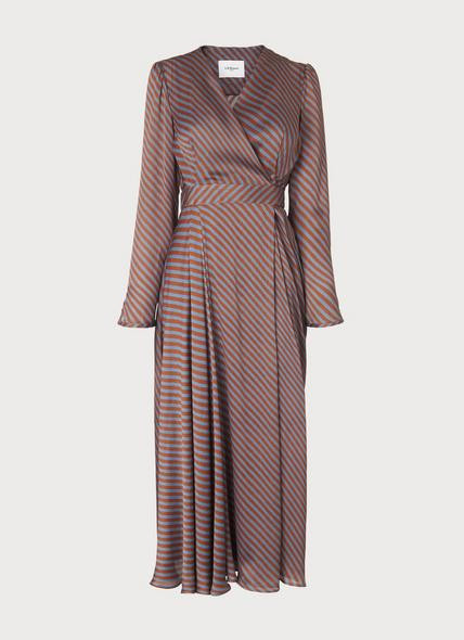 Loreta Rust Dress