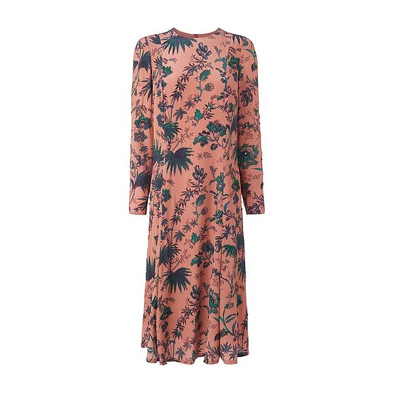 Noah Pink Print Dress