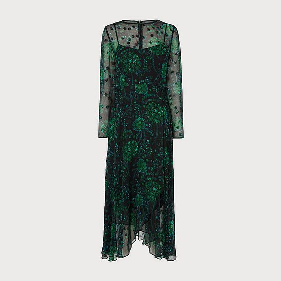 Roe Green Dress