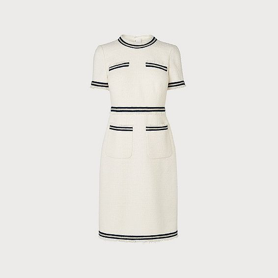 Susanna Cream Cotton Dress
