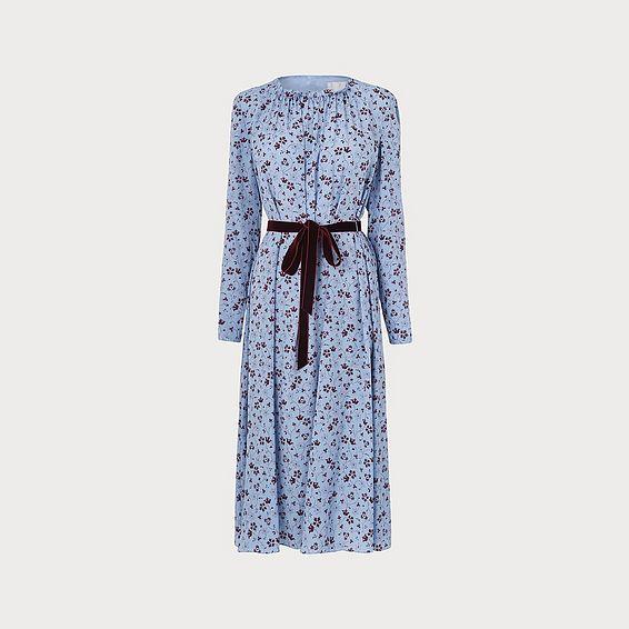 Yadi Blue Dress