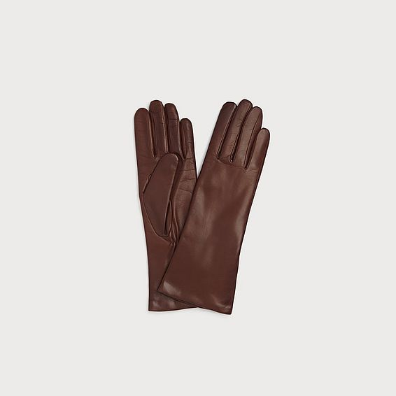 Ysabeau Tan Leather Gloves