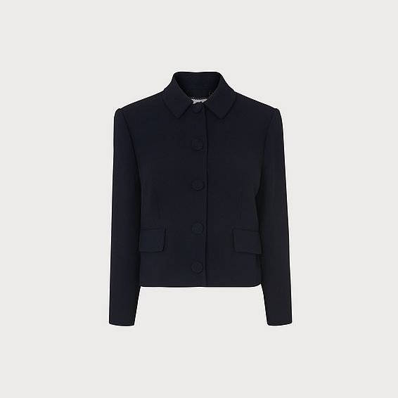 Carmel Navy Jacket