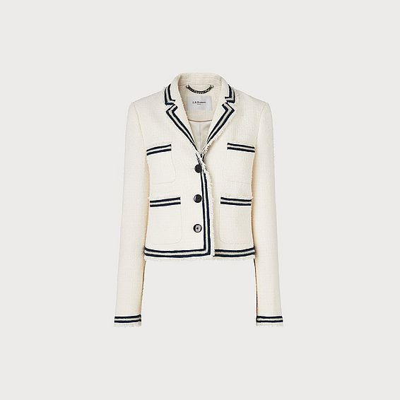 Susanna Cream Cotton Jacket