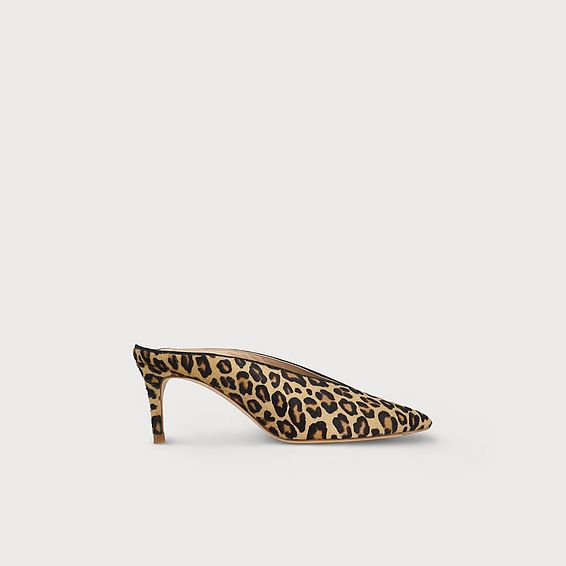Celia Animal Print Mules