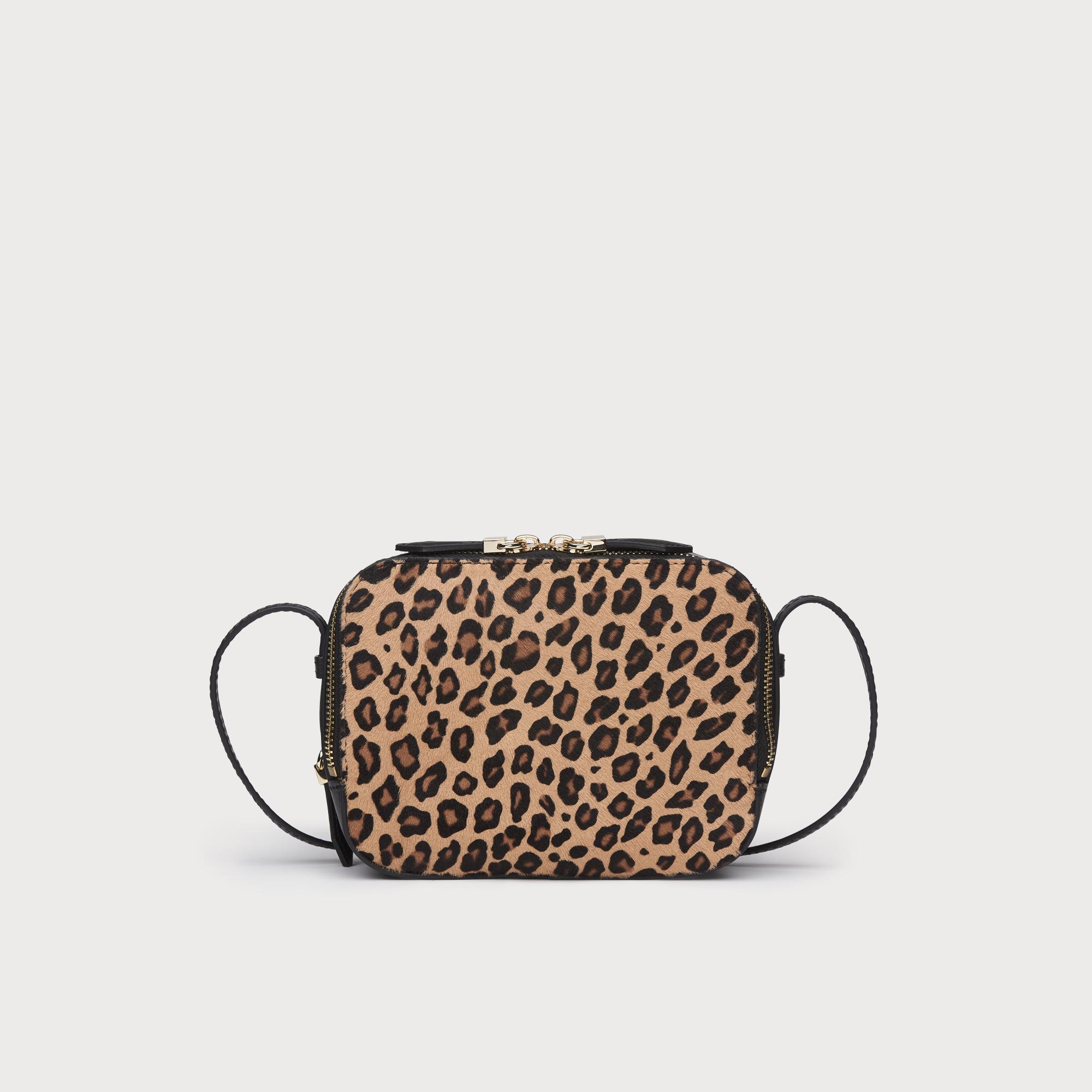 d3dd5a879c58 Mariel Leopard Print Calf Hair Shoulder | Handbags | L.K.Bennett