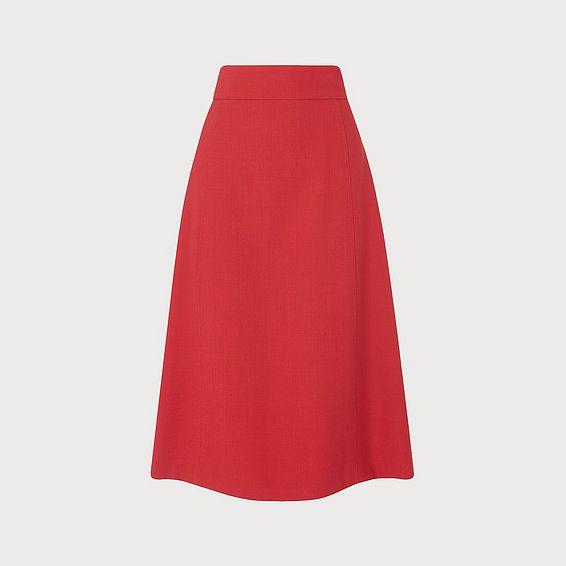 Adriana Red Skirt