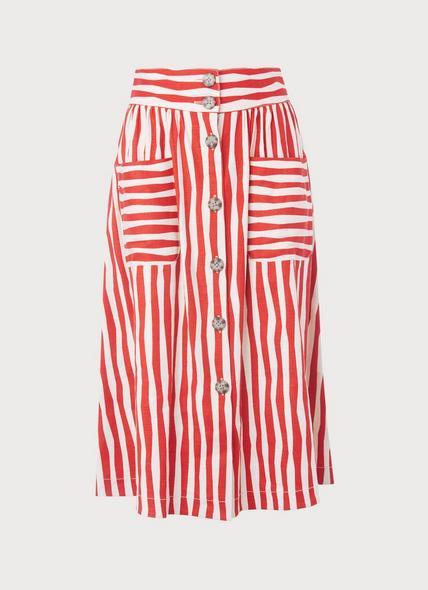 Annelin Red Skirt