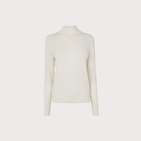Jae Cream Silk Cotton Jumper