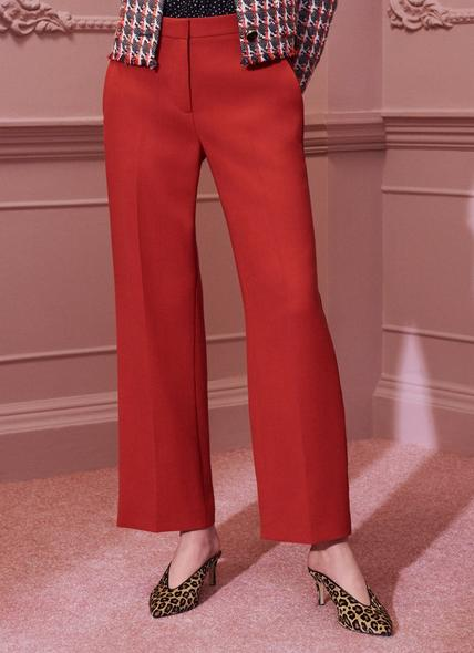 Adriana Red Trousers