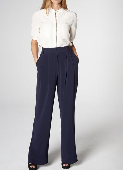 Reid Navy Trousers