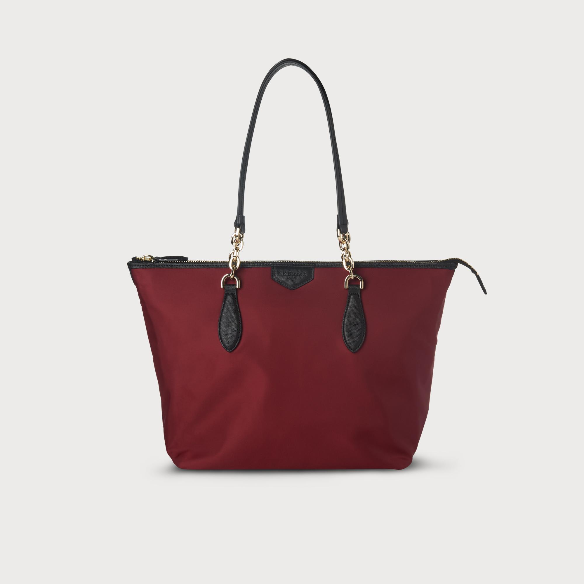 Brooke Wine Tote Bag