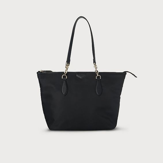 Brooke Black Tote Bag