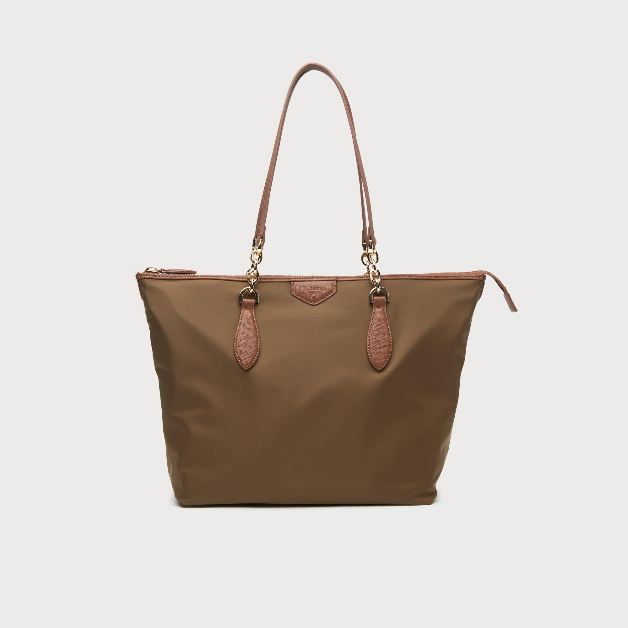 Brooke Khaki Tote Bag