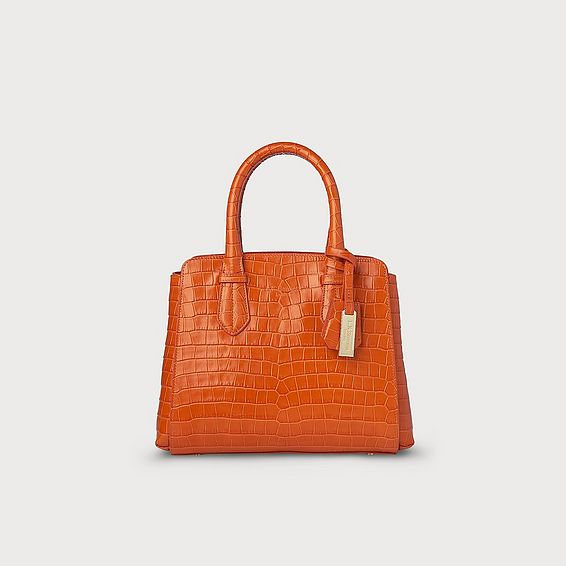 Cassandra Orange Bag