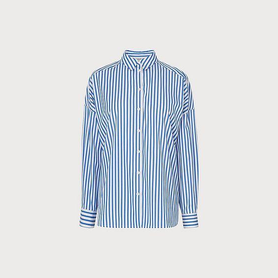 Jenny Blue White Shirt