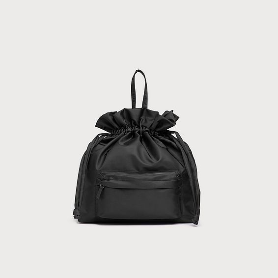 Layla Black Backpack