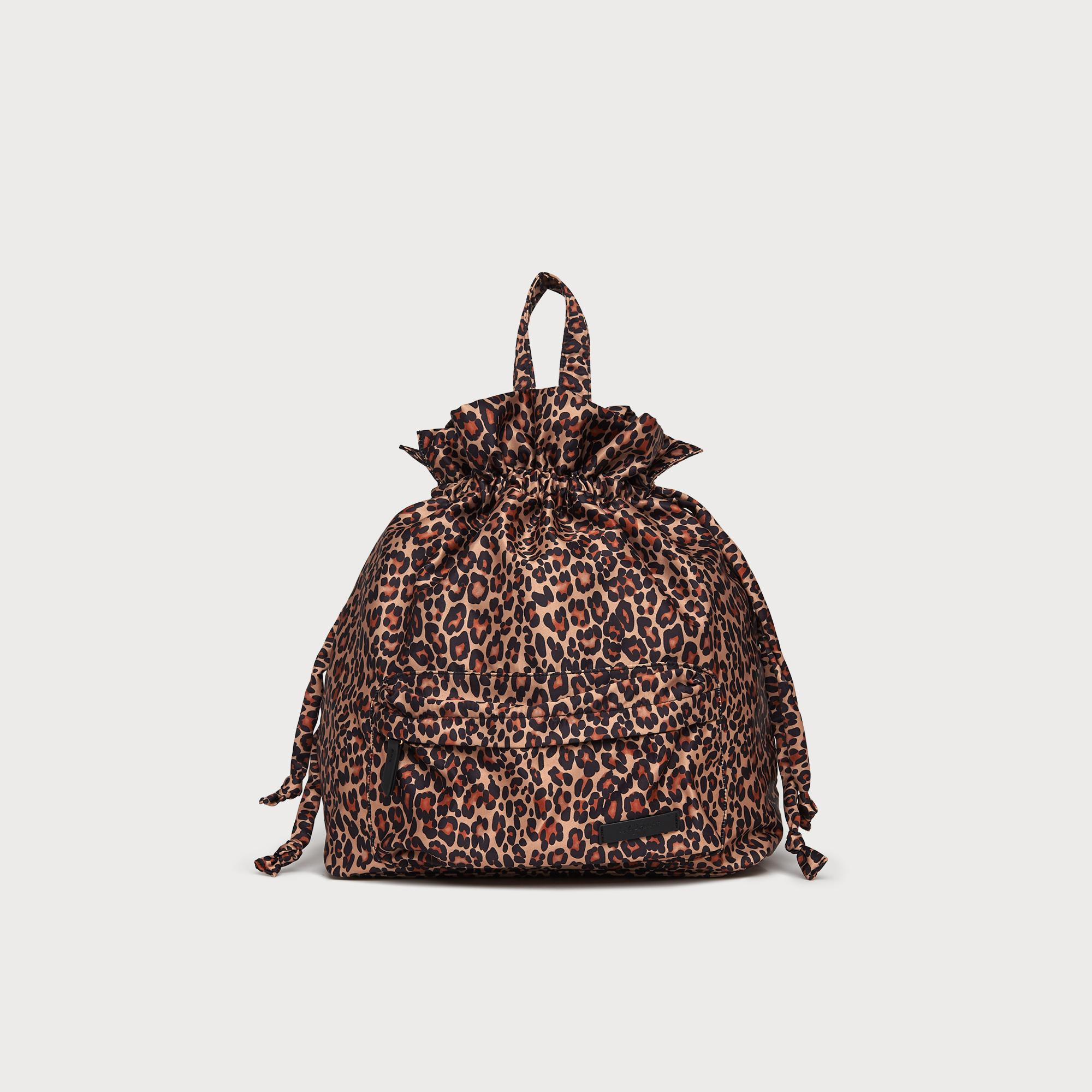 Layla Leopard Print Backpack by L.K.Bennett