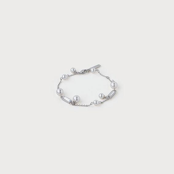 Carrie Swarovski Crystal & Pearl Bracelet