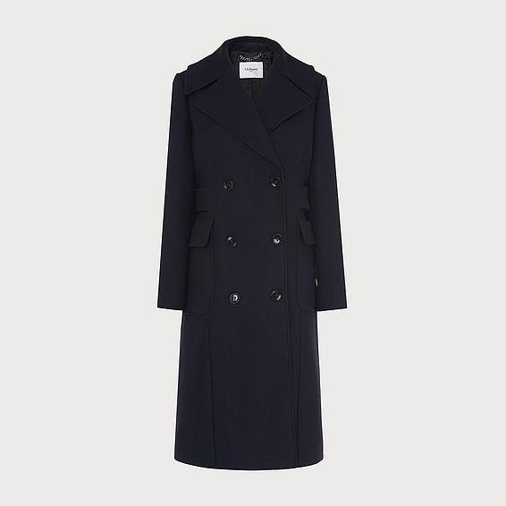Aurelia Navy Coat