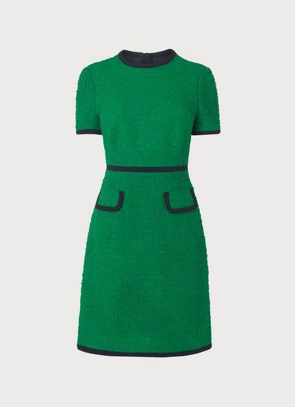 Anita Green Tweed Dress