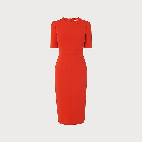 Elene Orange Dress