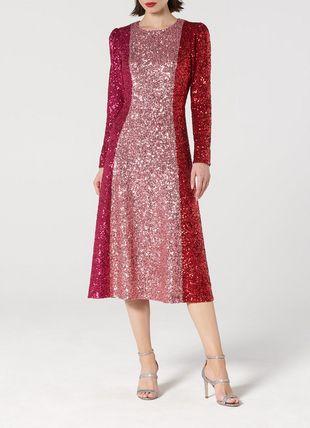Fitzgeral Multi Sequin Dress