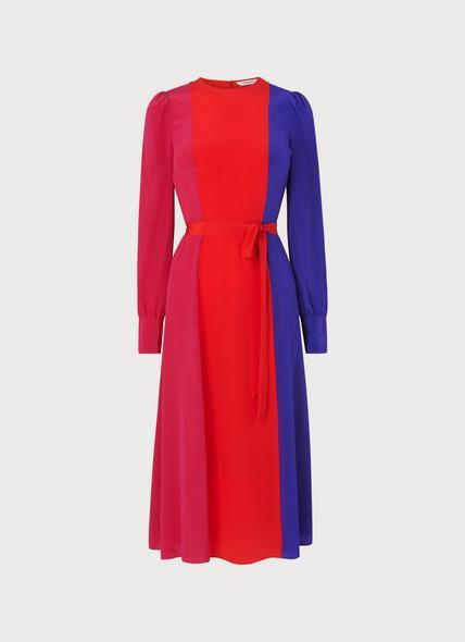 Hanbury Multi Silk Dress