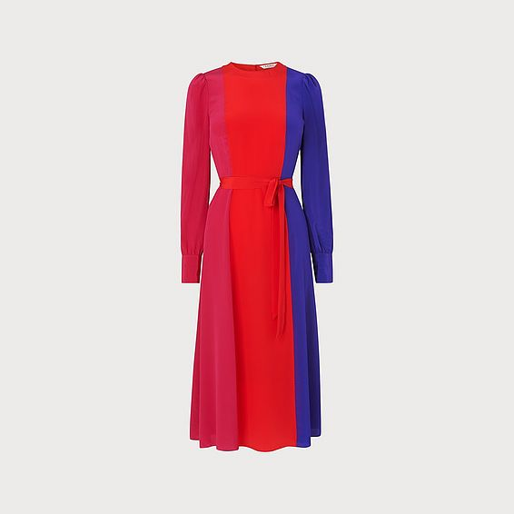 Hanbury Multi Silk Dress