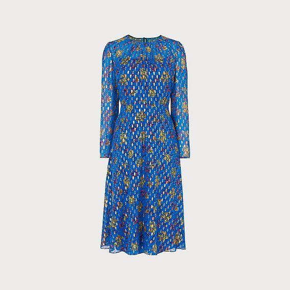 Ines Blue Dress