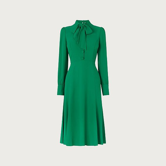 Mortimer Green Tea Dress