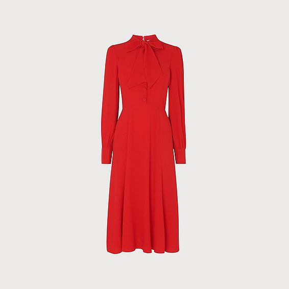 Mortimer Red Tea Dress