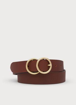 Georgia Tan Leather Belt