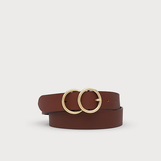 Georgia Tan Leather Belt