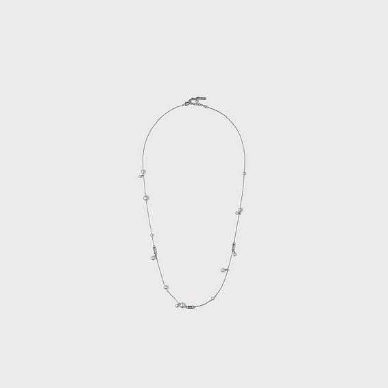 Carmia Swarovski Crystal & Pearl Necklace