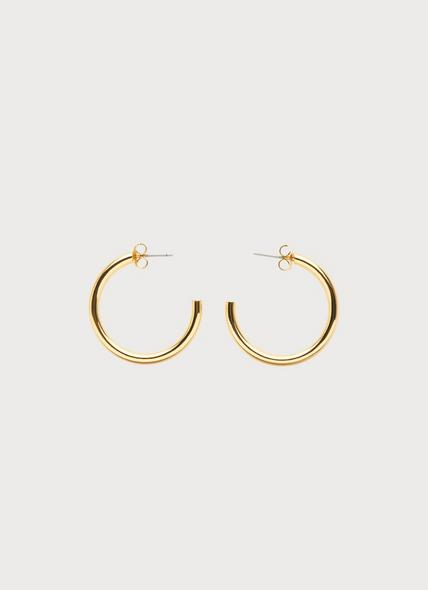 Sunne Gold-Plated Hoop Earrings