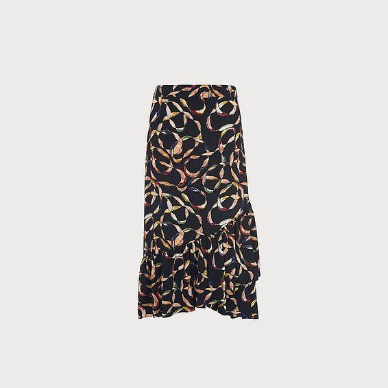Florentin Black Skirt