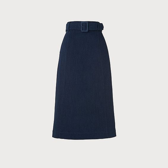 Suki Denim A-Line Skirt