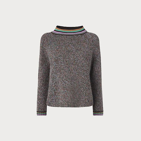 Claudie Multi Merino Wool Jumper