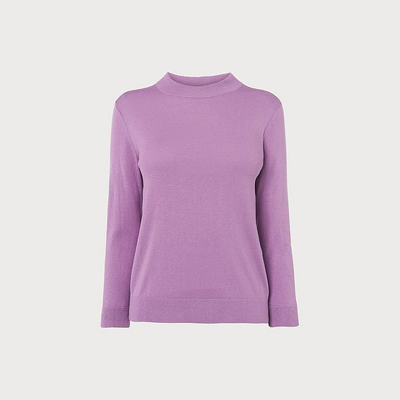Grace Lilac Fine Knit Jumper