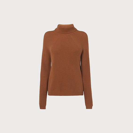 Lulumay Camel Wool Cashmere Jumper