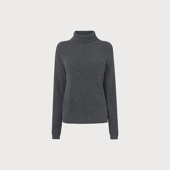 Lulumay Grey Wool Cashmere Jumper