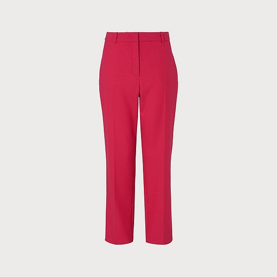 Floyd Pink Wool-Blend Trousers