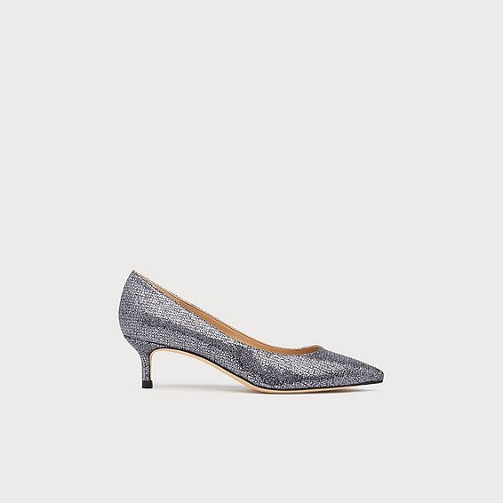 Audrey Anthracite Lurex Courts