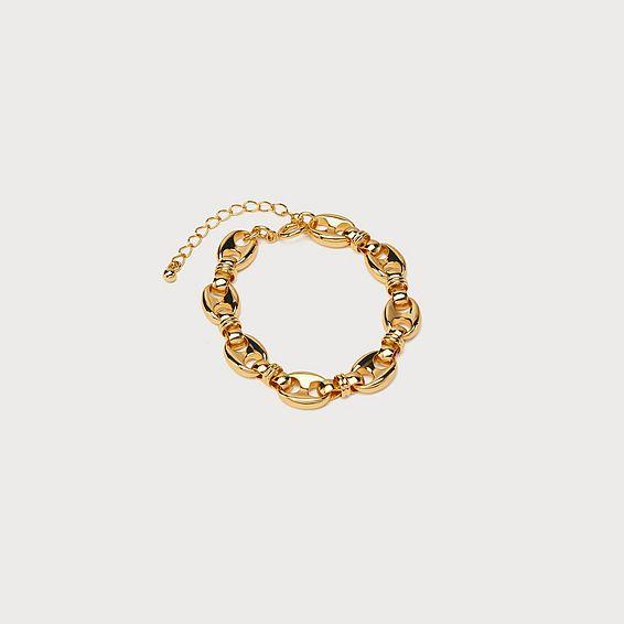 Skye Gold-Plated Link Bracelet