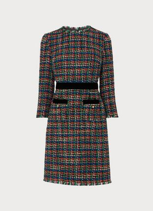 Lucy Multicoloured Tweed Dress