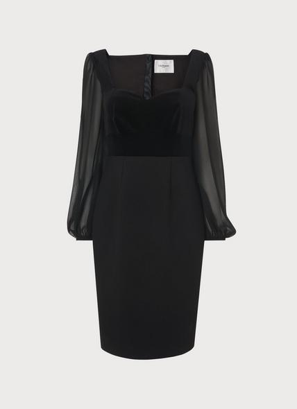 Scarlett Black Cotton Dress