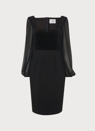 Scarlett Black Cotton Dress