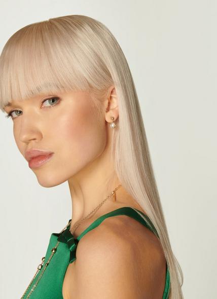 Darcia Gold, Pearl & Swarovski Crystal Drop Earrings