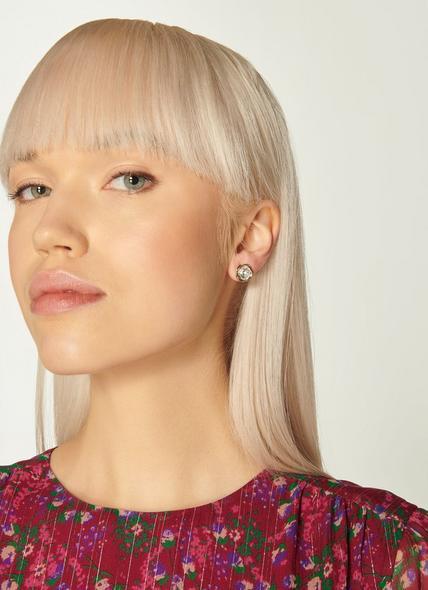 Swarovski Sydney Crystal Gold Plating Earrings